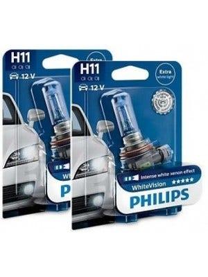 Philips WhiteVision 3800k set - H11