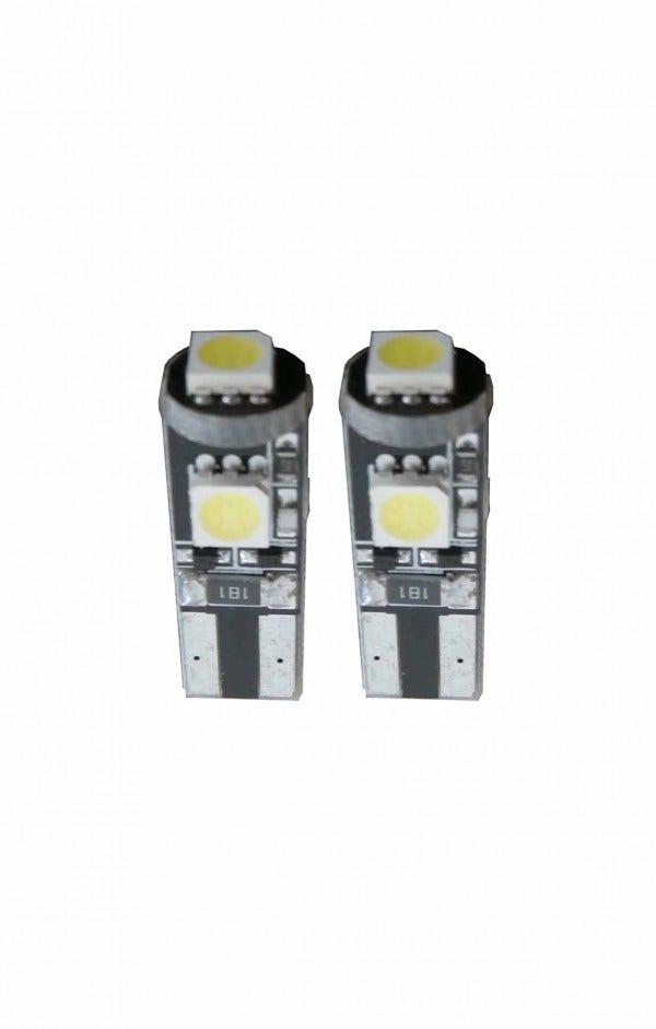 3-SMD-CANBUS-LED-Stadslicht-W5W-T10-Wit
