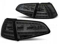 VW Golf 7 LED achterlicht units met dynamisch knipperlicht Smoke