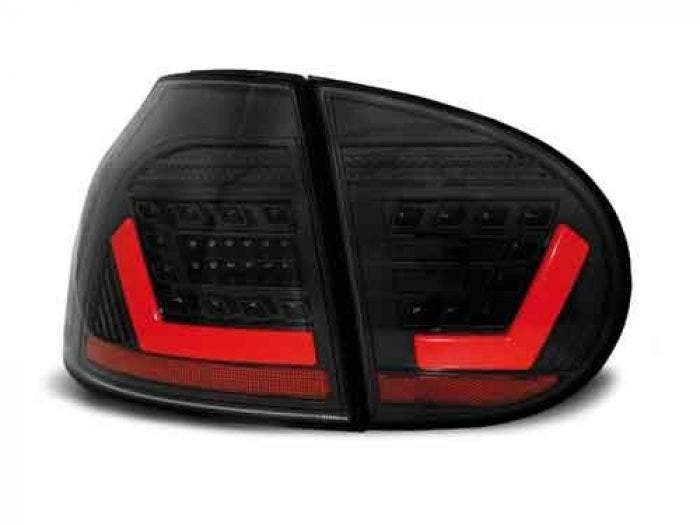 VW Golf 5 Black LED Achterlicht Unit