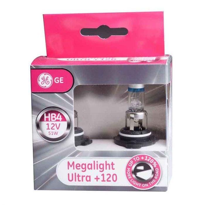 GE Megalight Ultra +120 - HB4 set