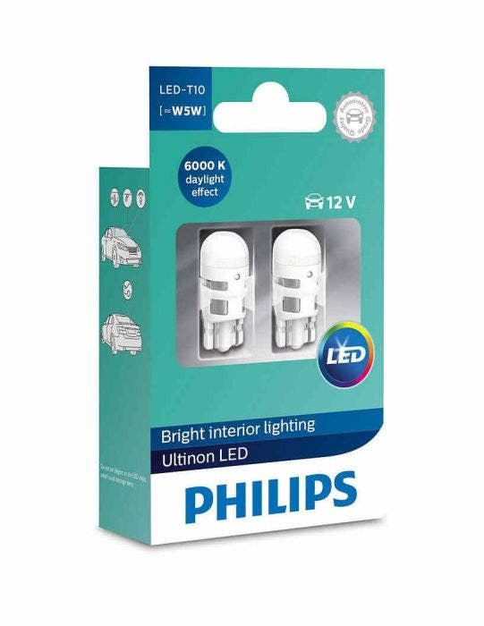 Philips-Ultinon-LED-w5w-t10-11961ULWX2