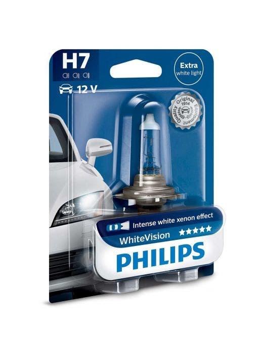 Philips WhiteVision 4300k blister 1 lamp - H7