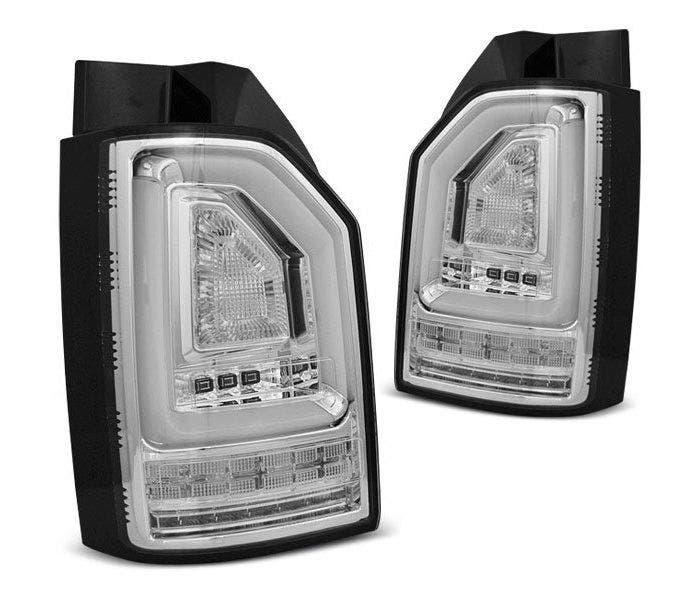 VW T6 LED achterlicht units met dynamisch knipperlicht Chrome
