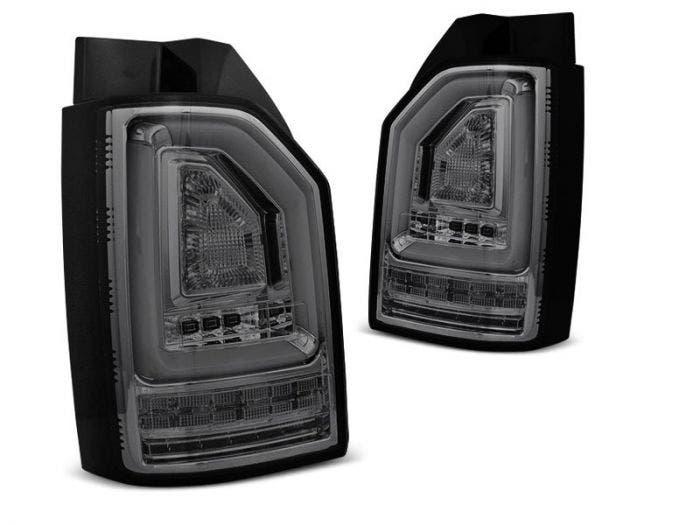 VW T6 LED achterlicht units met dynamisch knipperlicht Smoke