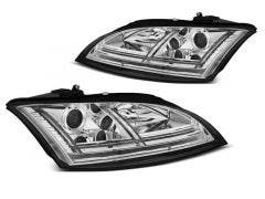 LED koplamp units, geschikt voor Audi TT 8J 06-10 Chrome Dynamic Edition