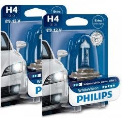Philips WhiteVision set 4300k - H4