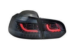 VW Golf 6 LED achterlicht unit Red Smoke V2