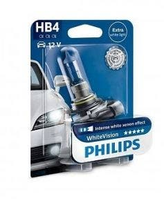 Philips WhiteVision 3700k blister 1 lamp - HB4