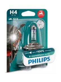 Philips X-tremeVision Moto +100% Blister - H4