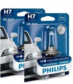 Philips WhiteVision set 4300k - H7