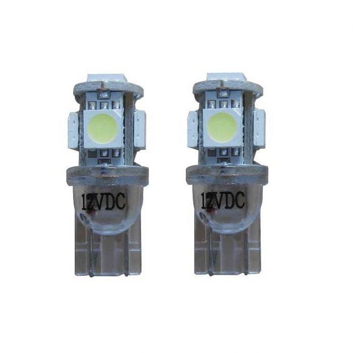 Xenon Look 5 SMD LED W5W T10 - oranje