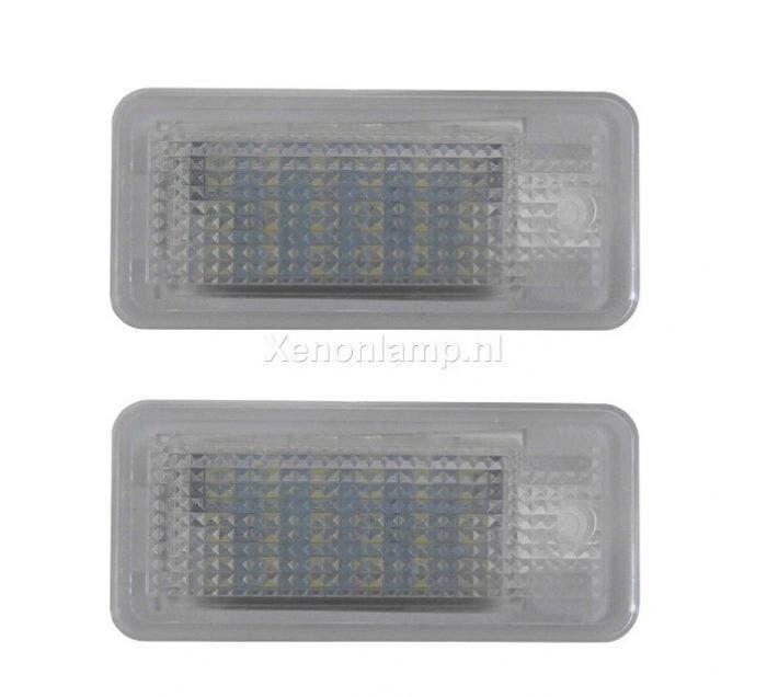 Audi-LED-kenteken-verlichting-unit